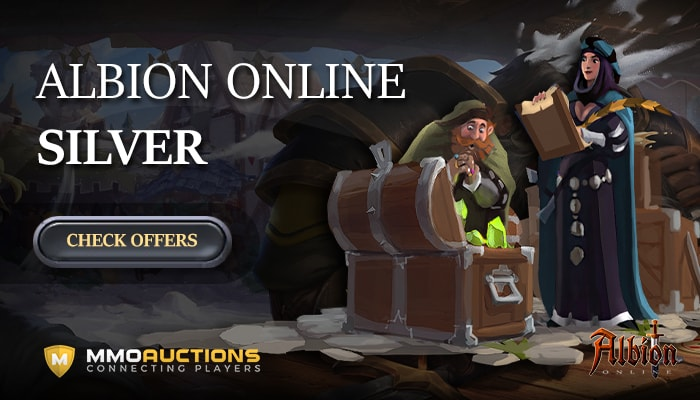 MMOAuctions is the best marketplace with Albion Silver