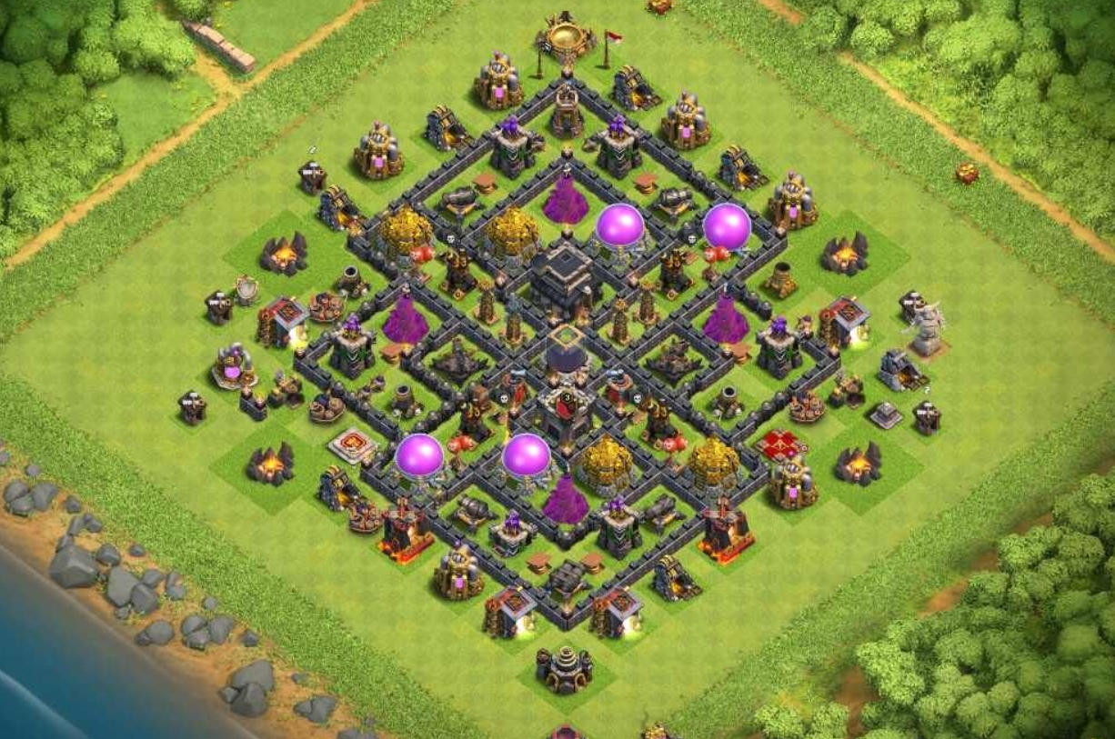 Coc th9 exemplary village