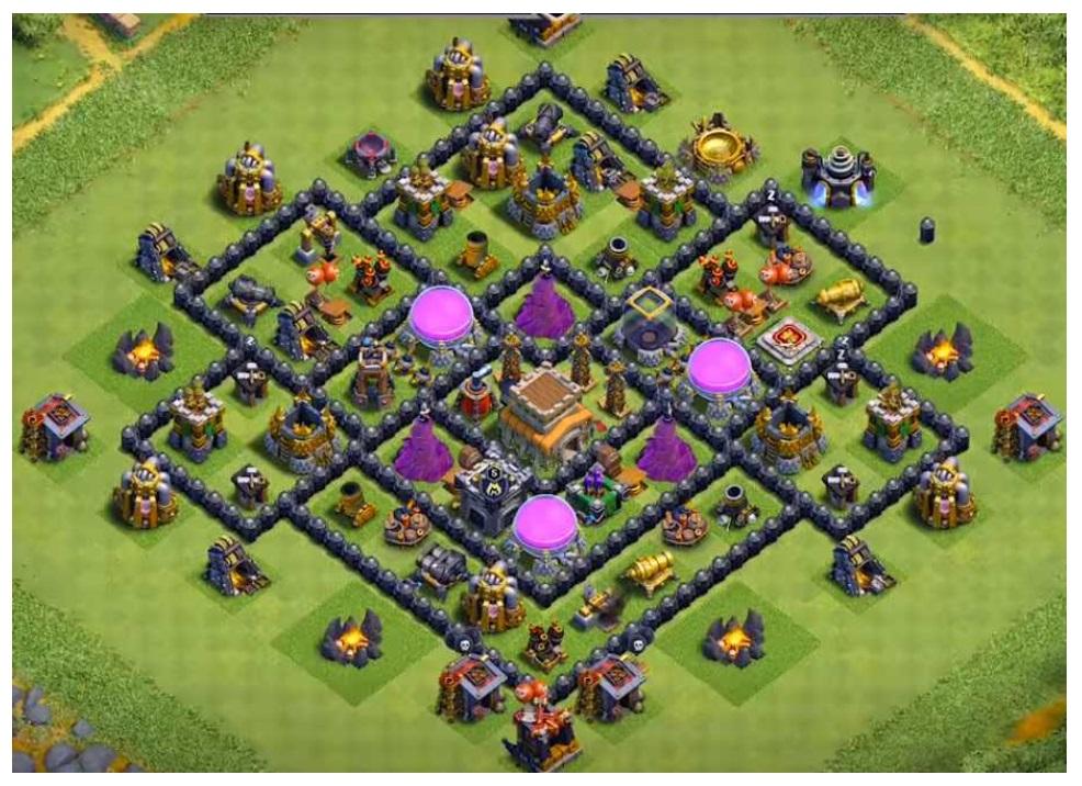 Clash of clans farming base