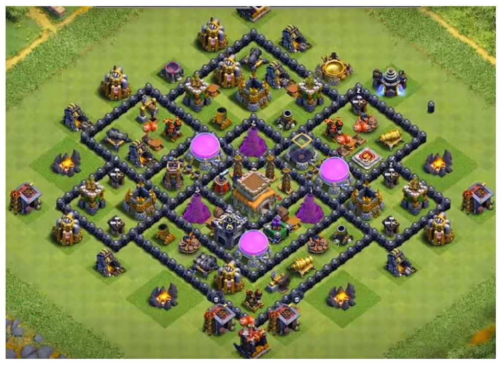 Clash of clans farming base