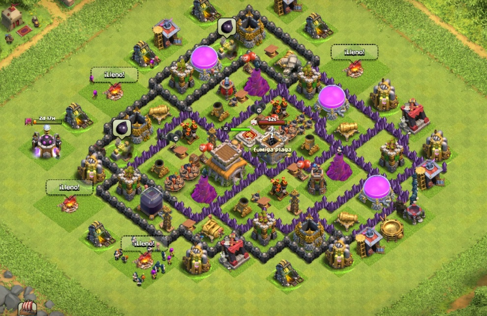 Clash of clans trophy base