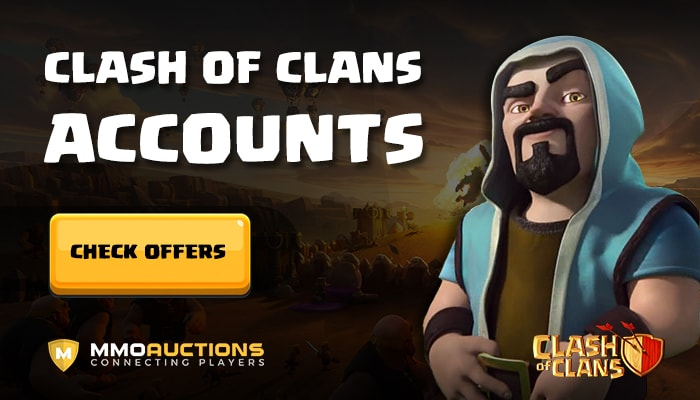 Clash of Clans accounts in marketplace mmoauctions