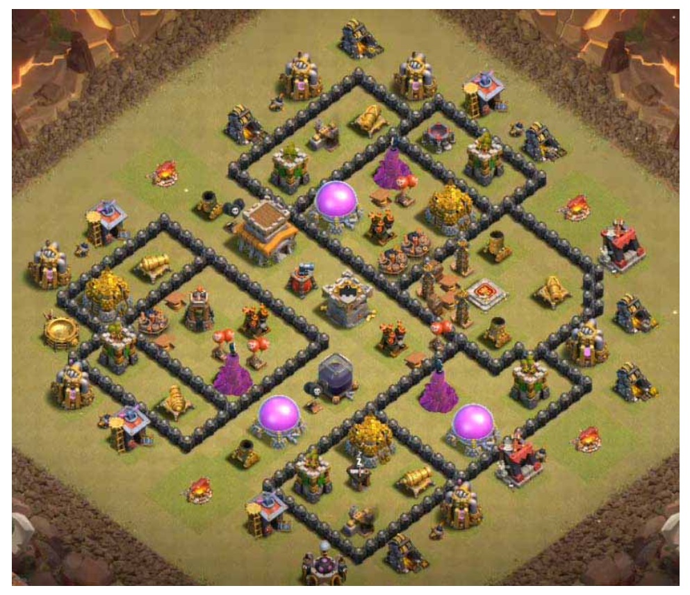 Clash of clans war base