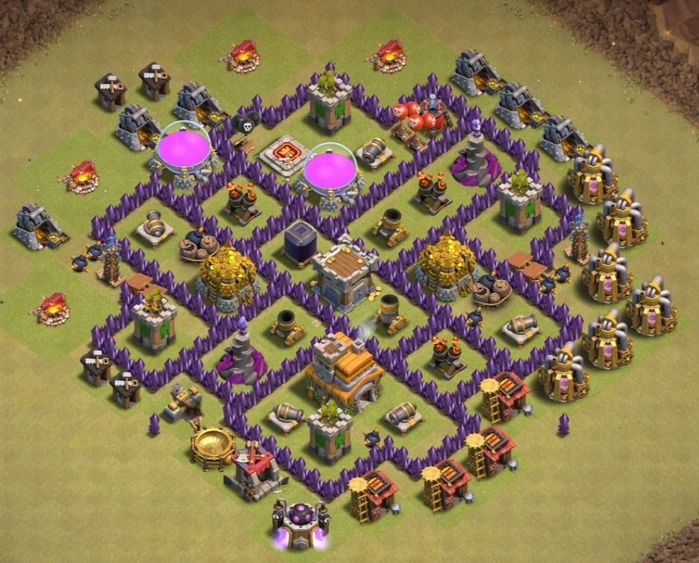 clash of clans attack strategy village