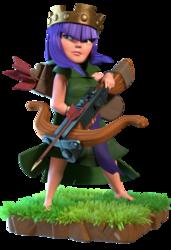 clash of clans heroes archer queen
