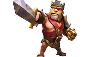 clash of clans heroes barbarian king