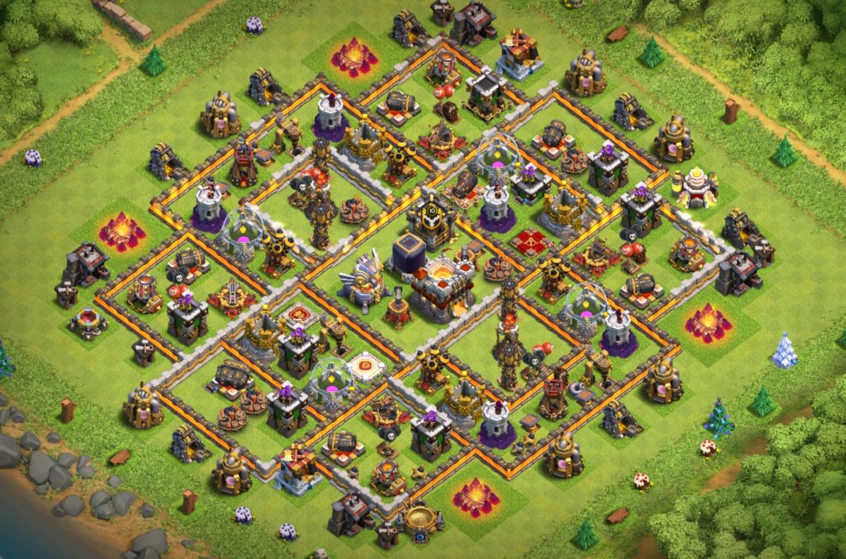 clash of clans th11 farming base