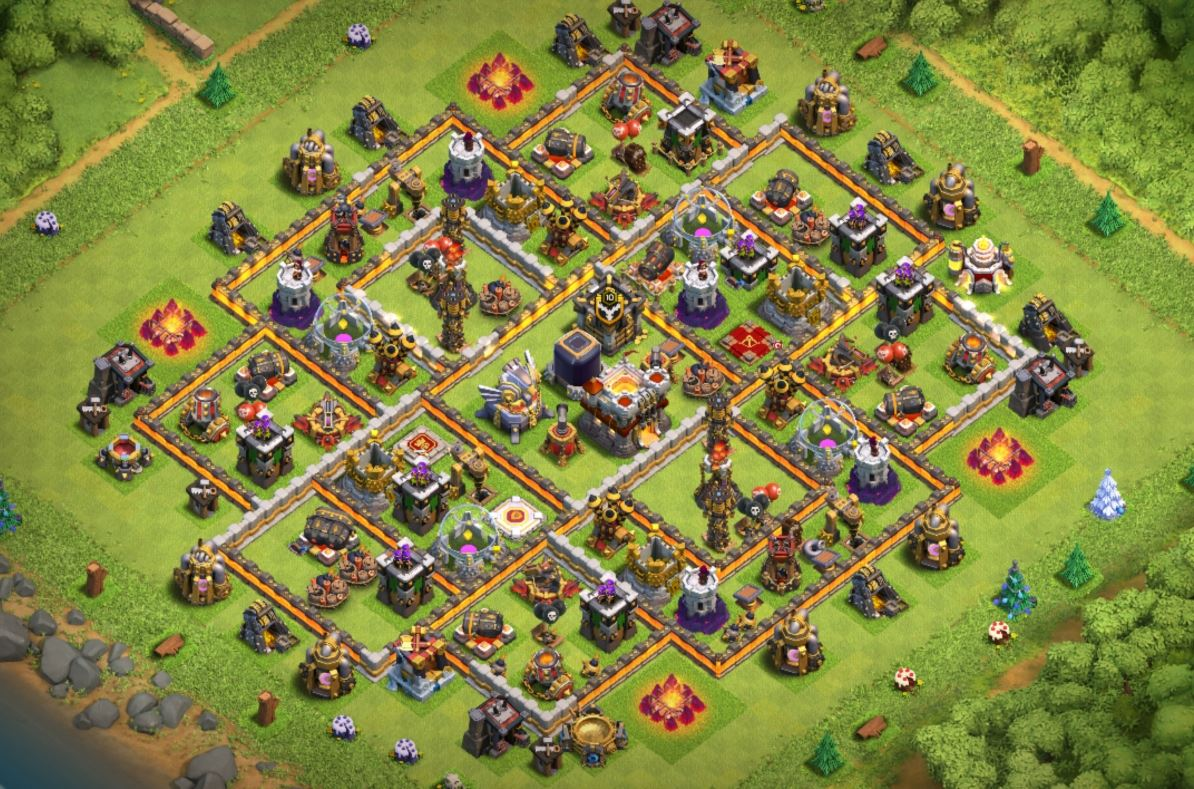 clash of clans th11 farming base