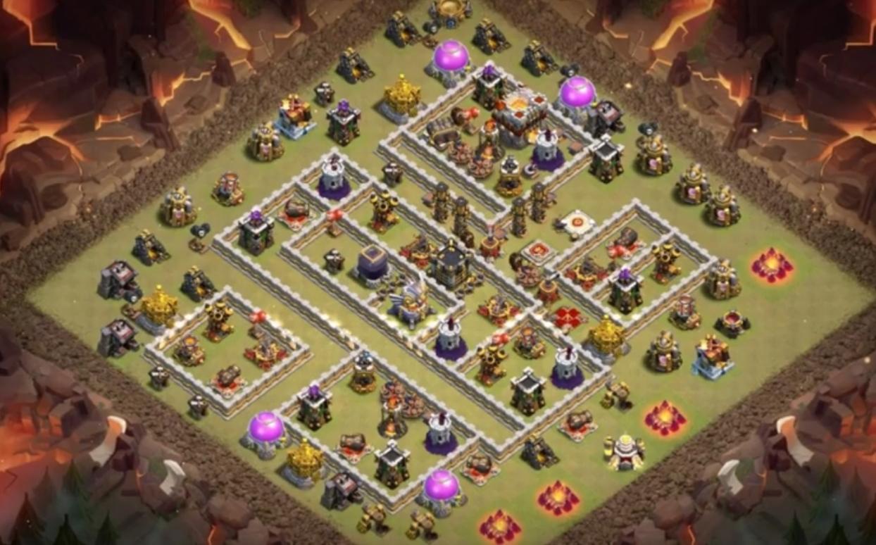 coc th11 war base