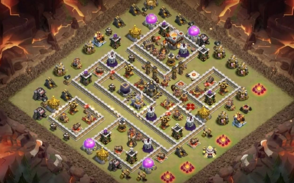 coc th11 war base