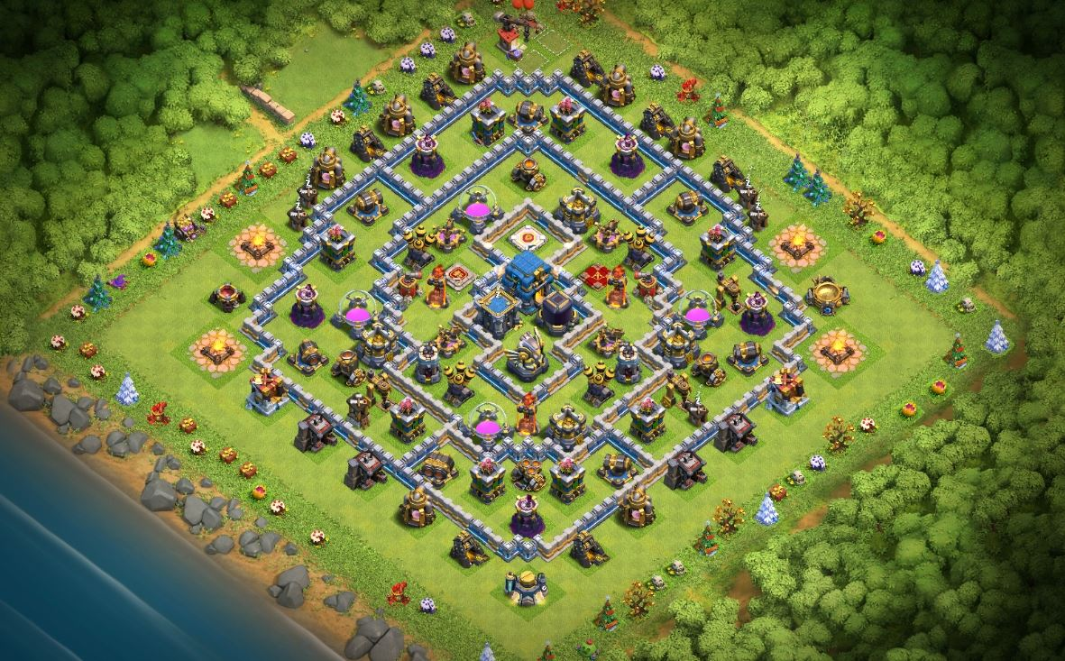 coc th12 farm base