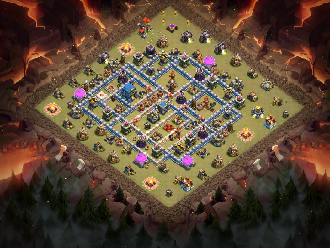 coc th12 war base