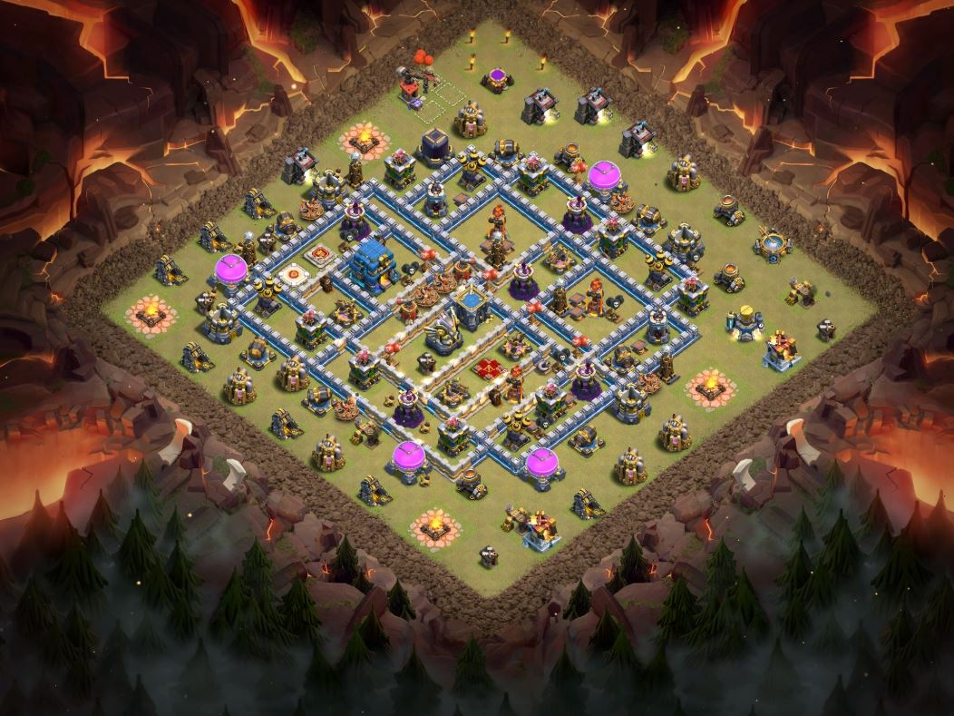 coc th12 war base