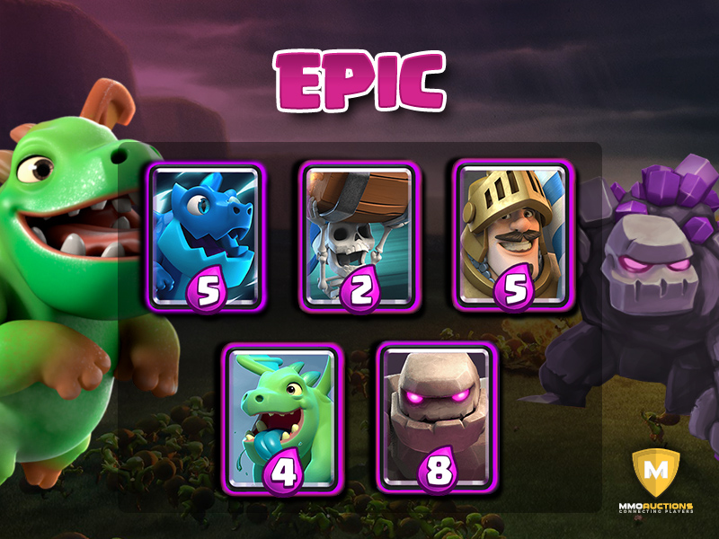 clash royale epic cards