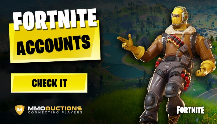 Fortnite Accounts at mmoauctions marketplace