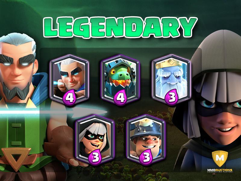 clash royale legendary cards