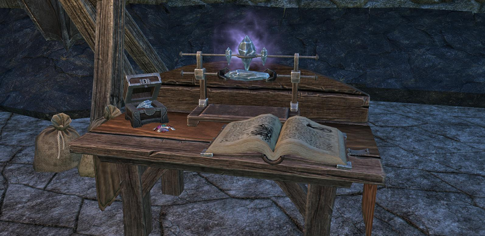 ESO crafting enchanting