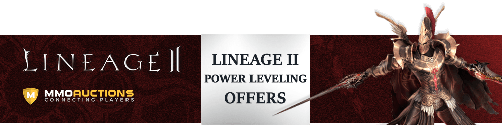 Lineage 2 power leveling