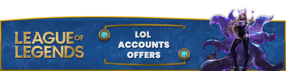 buy lol accounts