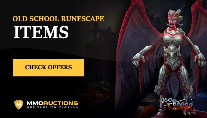 Old School RuneScape Items in best marketplace MMOAuctions