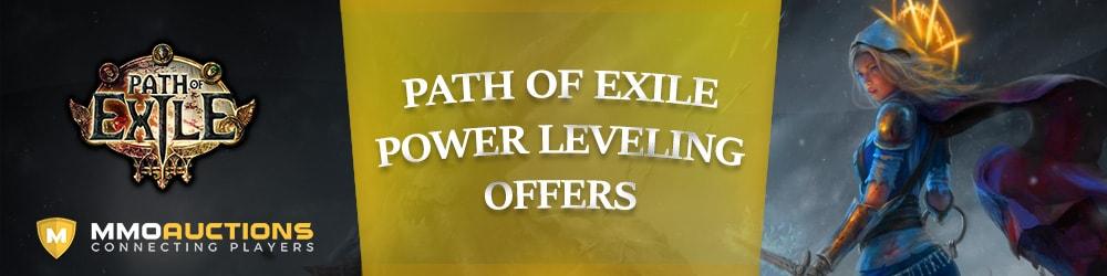 poe power leveling