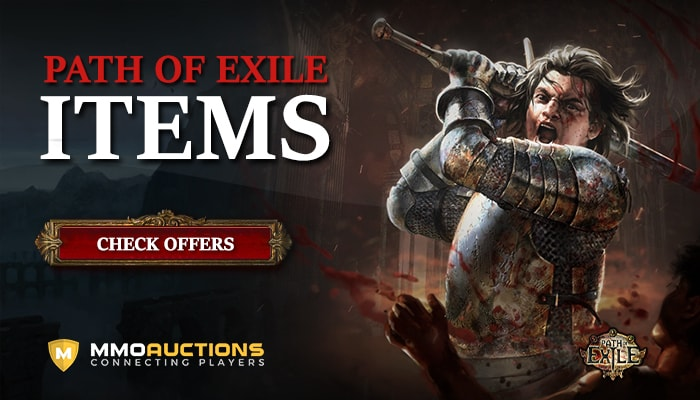 Path of Exile Items at MMOAuctions