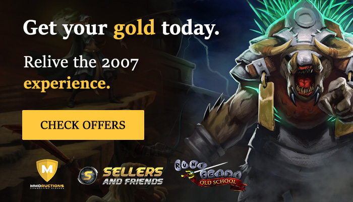 buy Old School RuneScape Gold in sellersandfriends store