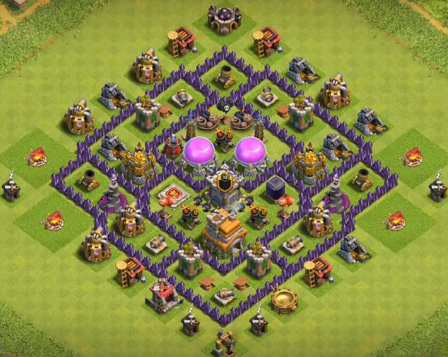 clash of clans town hall 7 farming base