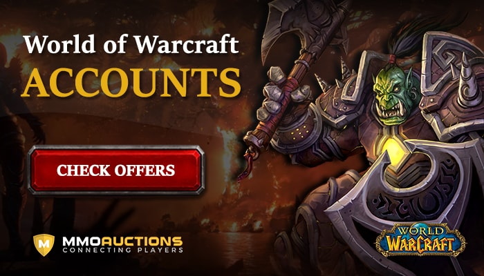 buy WoW Classic Accounts at MMOAuctions marketplace