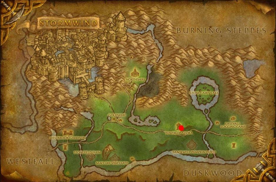 wow classic enchanting kitta firewind map