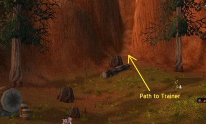 wow classic enchanting path to hgarth map