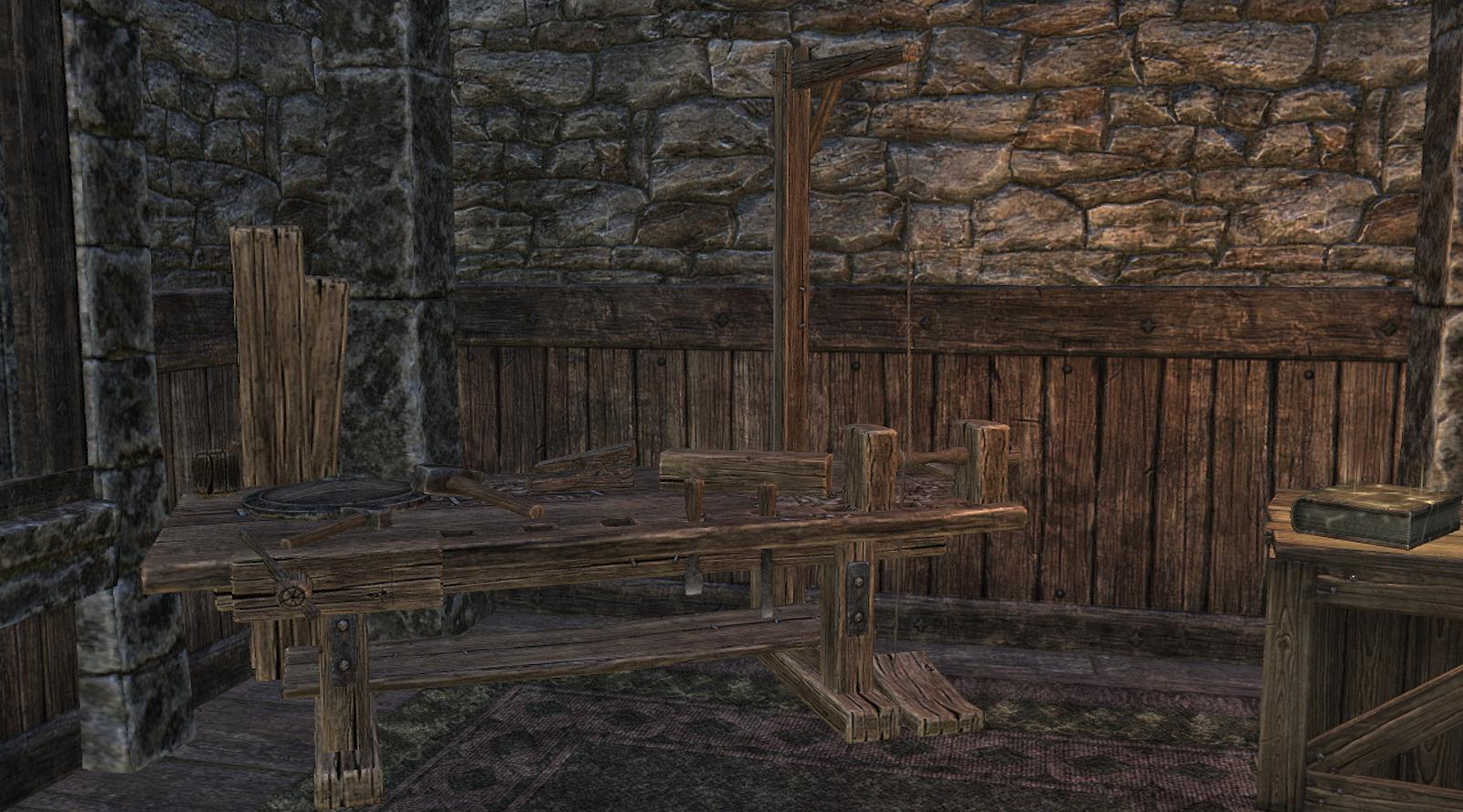 ESO crafting woodworking