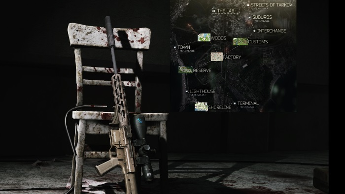 Escape from tarkov Factory Map image 1
