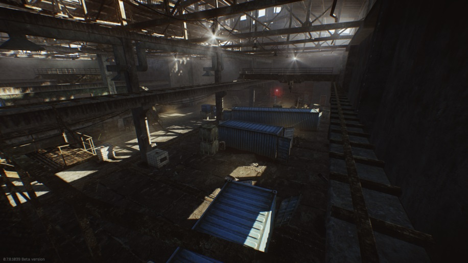 Escape from tarkov Factory Map layout 1