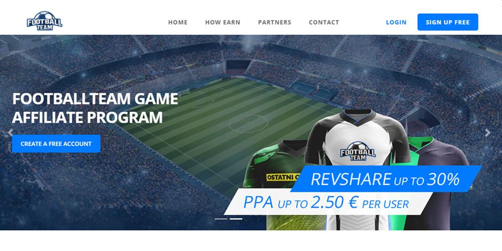 Affiliaxe marketer FootballTeam program niche