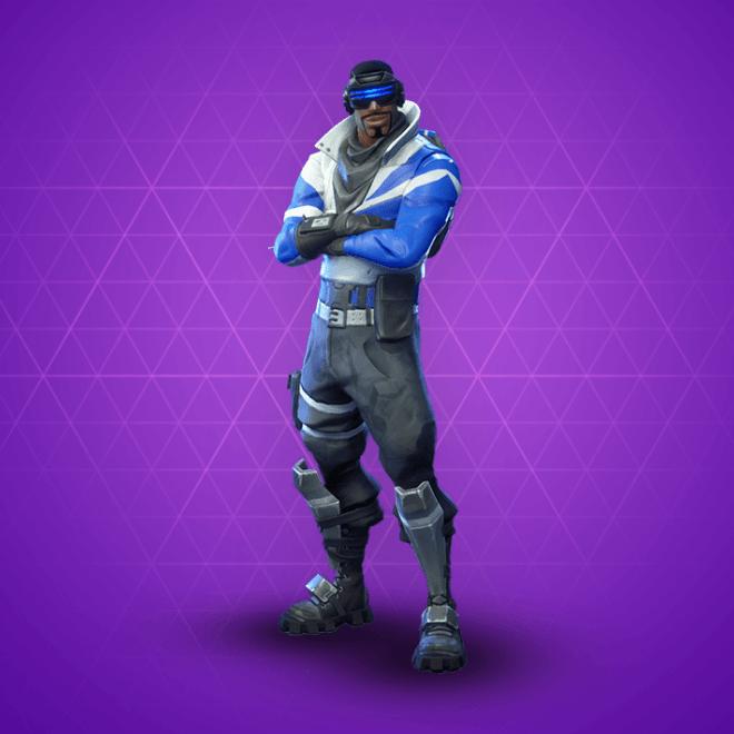 Fortnite blue striker skin