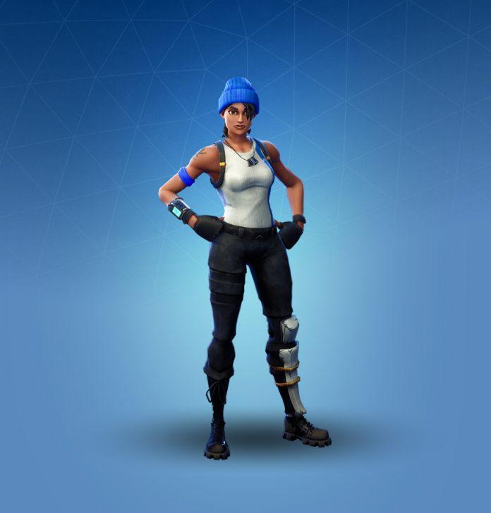 Fortnite blue team leader skin