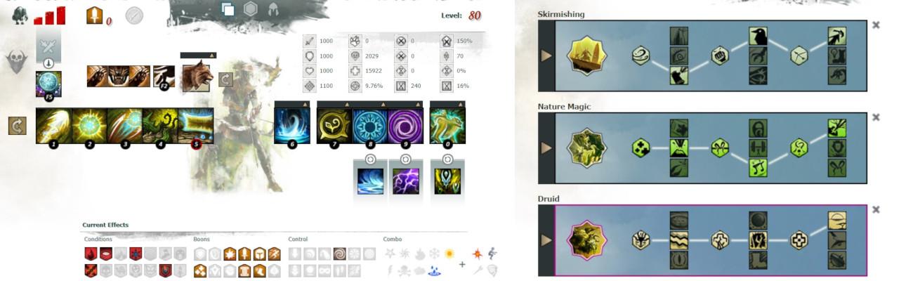Ranger Druid Boon Support Build