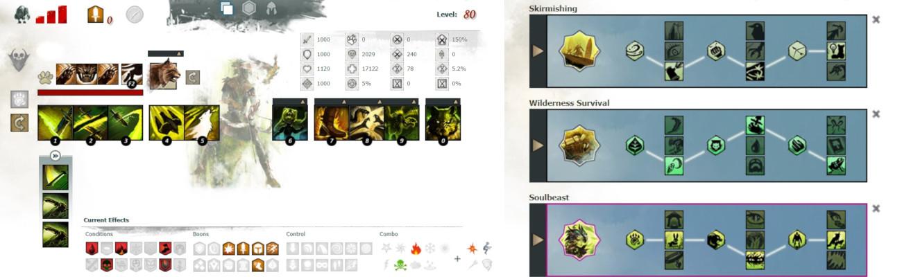 Ranger Soulbeast Condi DPS Build