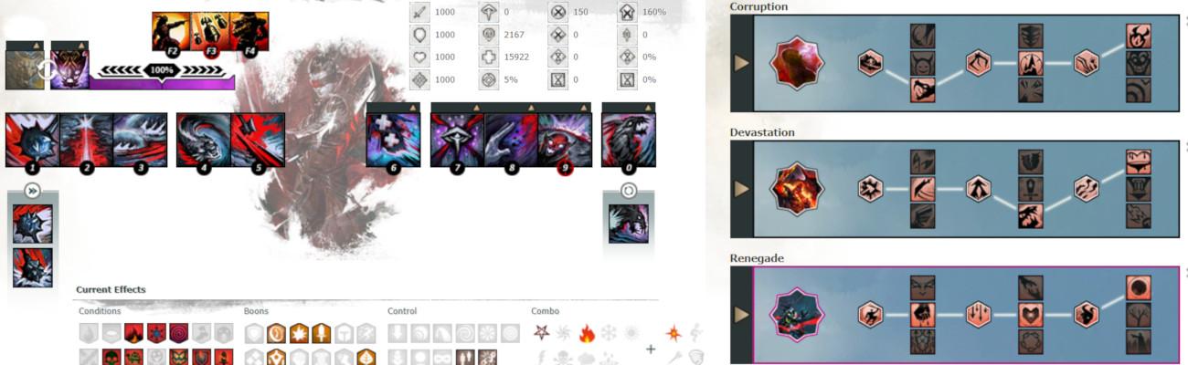 Revenant Renegade Condi DPS Build