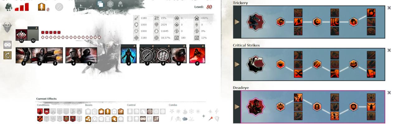 Dual Pistol Deadeye Build
