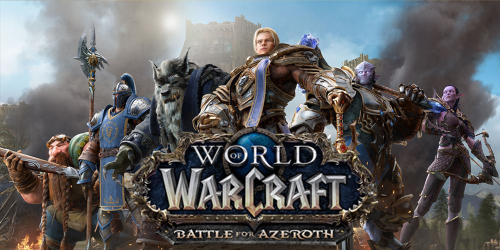 Azeroth Xbox menu monthly battle net
