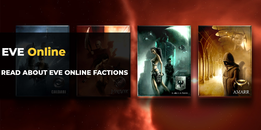 EVE Online Races, Factions