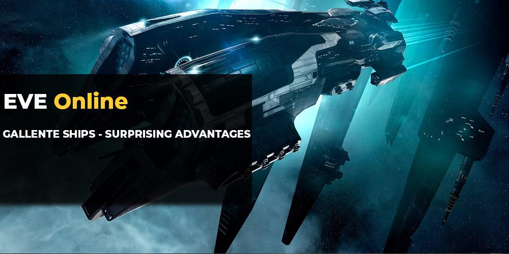 EVE Online Gallente Ships