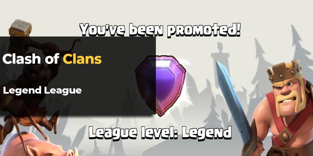 clash of clans legend league
