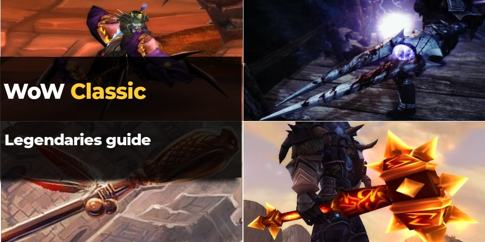 wow classic legendary items guide