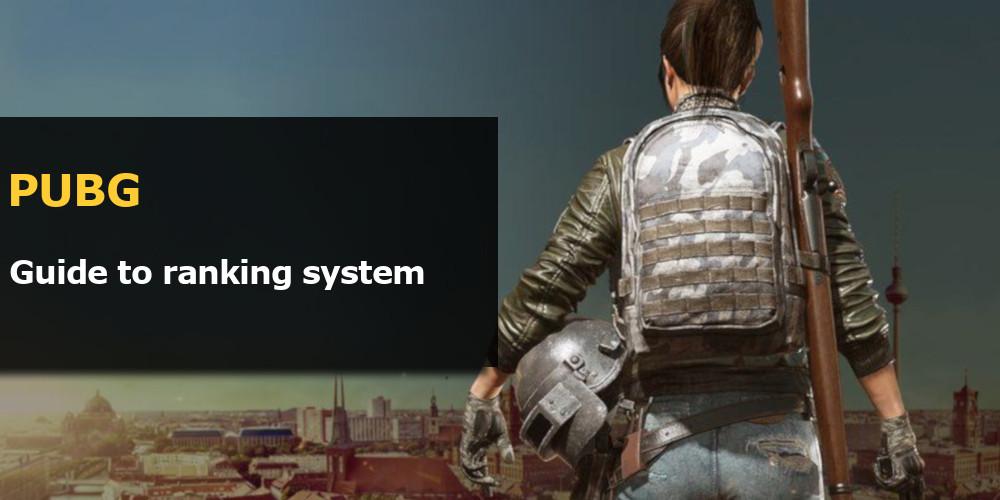pubg ranking system