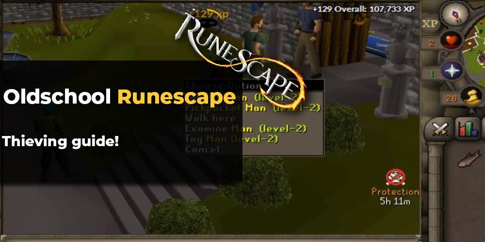 OSRS Thieving guide - Most efficient ways of leveling in