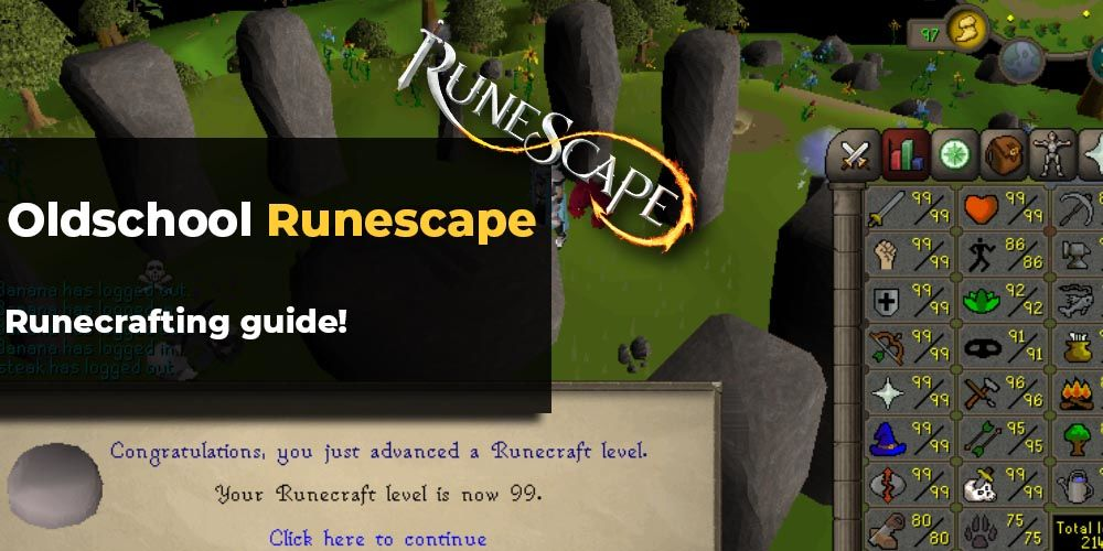Osrs Runecrafting Guide Most Efficient Ways Of Leveling In