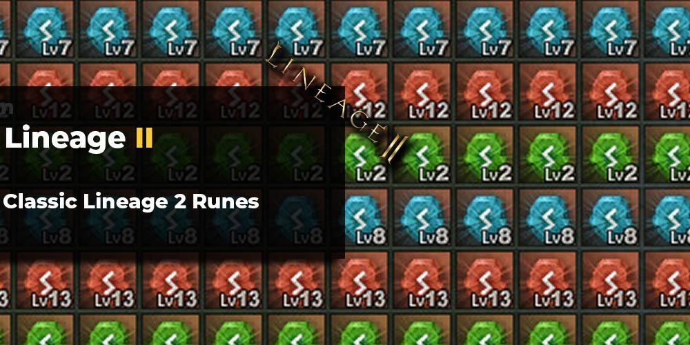 Lineage 2 Classic runes